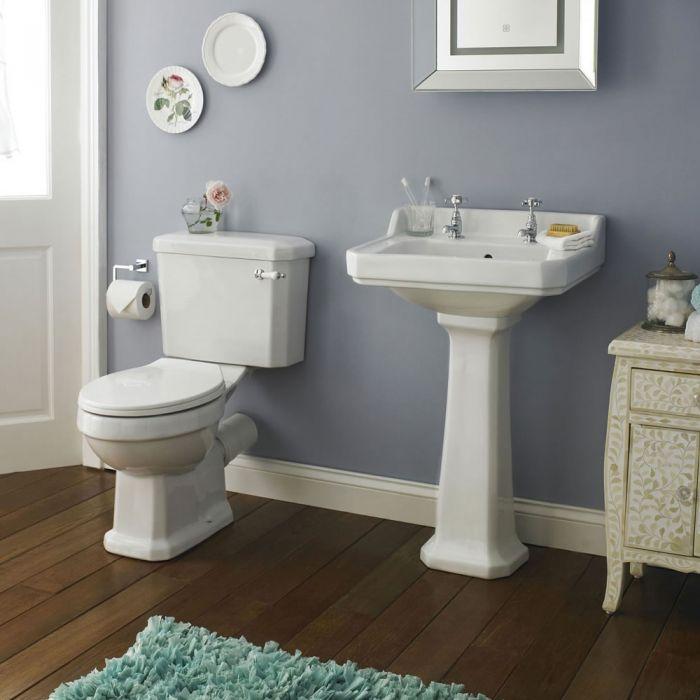 Lavabo 50cm & WC rétro Lewiston