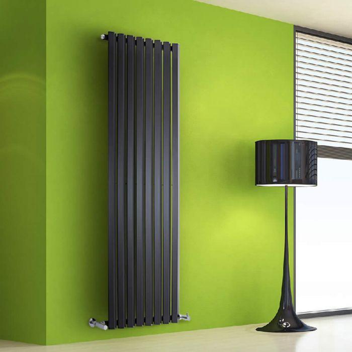 Radiateur Design Vertical Noir Salisbury 160cm x 56cm x 6cm 1261 Watts