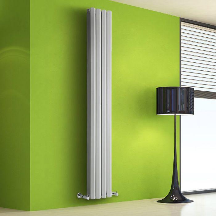 Radiateur Design Vertical Blanc Salisbury 178cm x 28cm x 8,6cm 1079 Watts