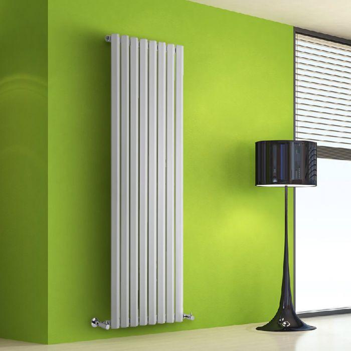 Radiateur Design Vertical Blanc Salisbury 160cm x 56cm x 6cm 1261 Watts