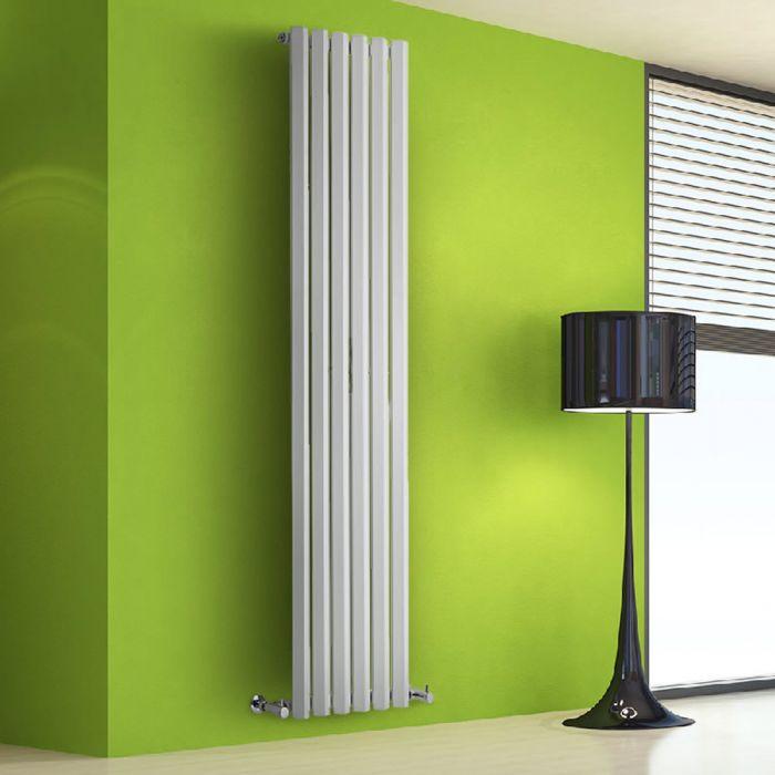 Radiateur Design Vertical Blanc Salisbury 178cm x 42cm x 6cm 1050 Watts