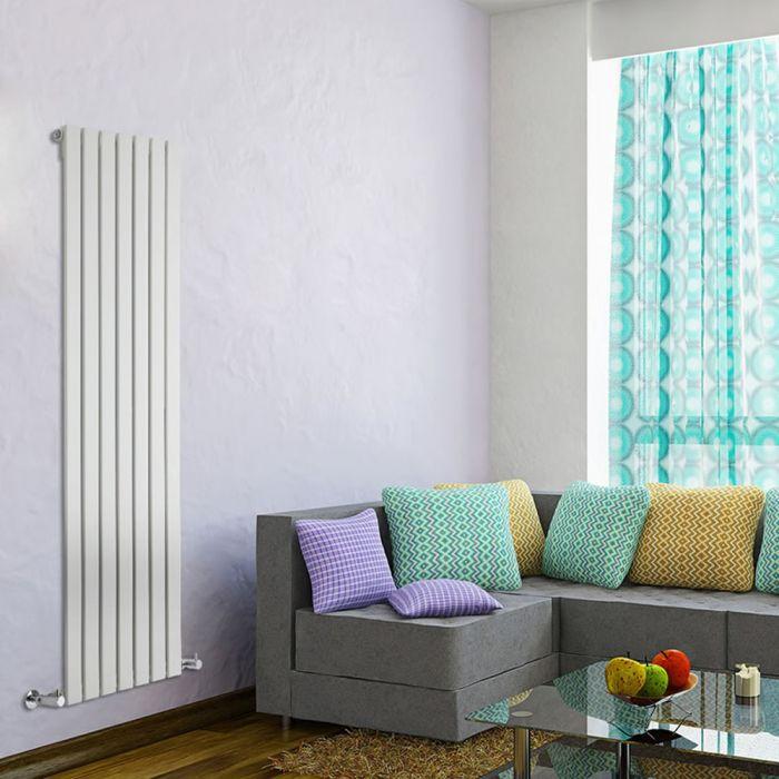 Radiateur Design Vertical Blanc Delta 160cm x 49cm x 4,7cm 1026 Watts