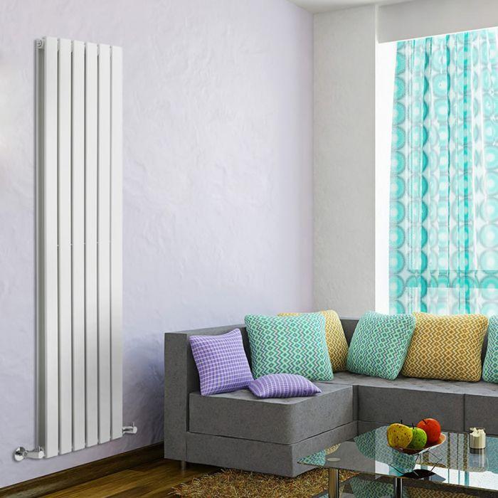 Radiateur Design Vertical Blanc Delta 160cm x 42cm x 6cm 1323 Watts