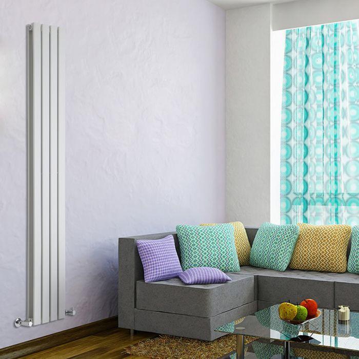 Radiateur Design Vertical Blanc Delta 178cm x 28cm x 6cm 990 Watts
