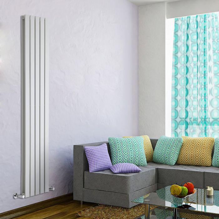 Radiateur Design Vertical Blanc Delta 178cm x 35cm x 6cm 1237 Watts