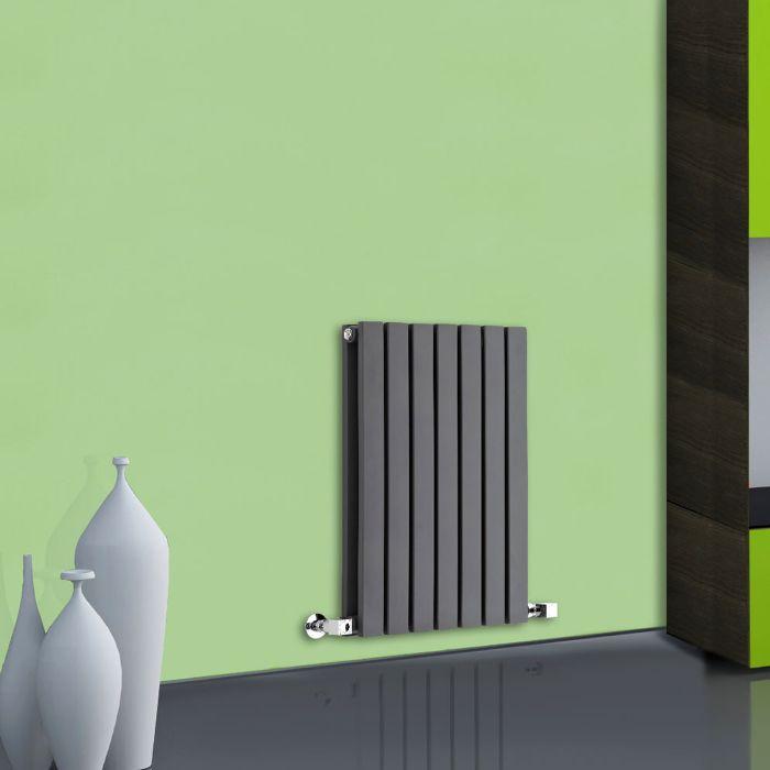 Radiateur Design Horizontal Anthracite Sloane 63,5cm x 42cm x 7,1cm 653 Watts
