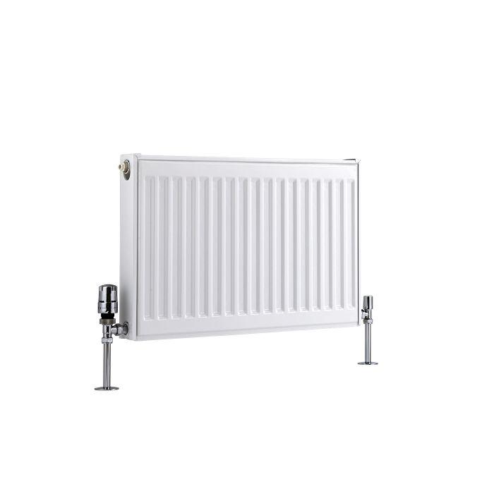 Radiateur À Panneaux Type 11 Horizontal Blanc Eco 40cm x 60cm x 5cm 410 Watts