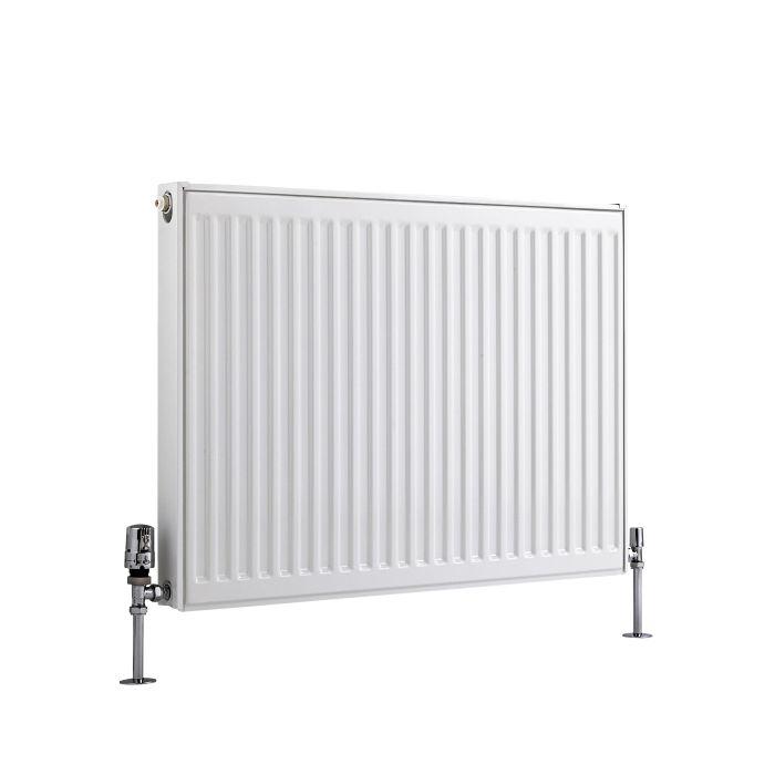 Radiateur À Panneaux Type 11 Horizontal Blanc Eco 60cm x 80cm x 5cm 741 Watts