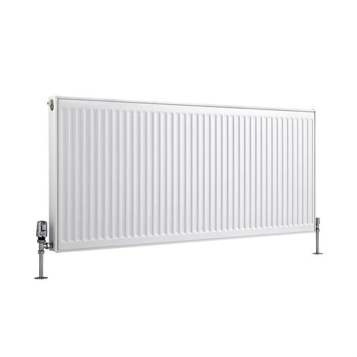 Radiateur À Panneaux Type 11 Horizontal Blanc Eco 60cm x 140cm x 5cm 1296 Watts