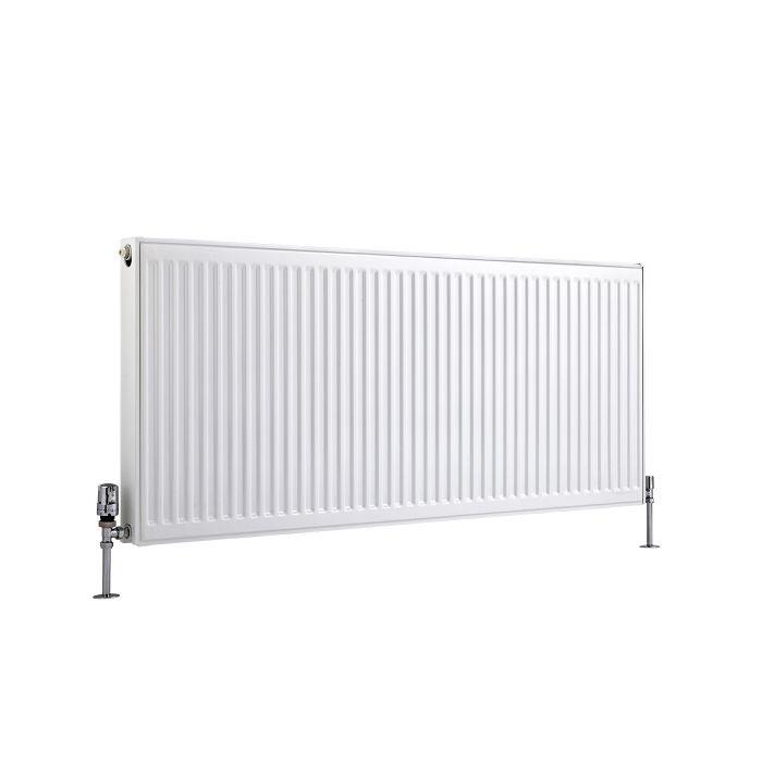 Radiateur À Panneaux Type 21 Horizontal Blanc Eco 60cm x 140cm x 7,3cm 1874 Watts