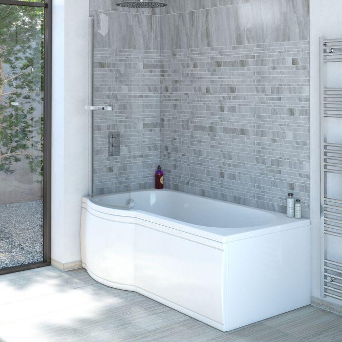 baignoire d 39 angle asym trique angle gauche. Black Bedroom Furniture Sets. Home Design Ideas