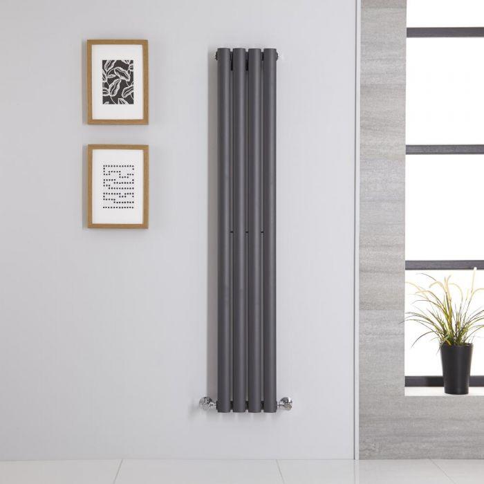 Radiateur Vertical Vitality Anthracite 140cm x 23.6cm x 5.6cm 457 watts