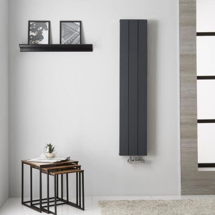 Radiateur Aluminium Anthracite Kett – 140cm x 28cm