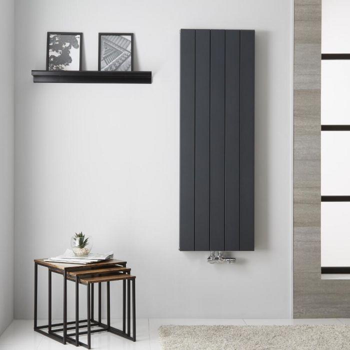 Radiateur Aluminium Anthracite Kett – 140cm x 47cm