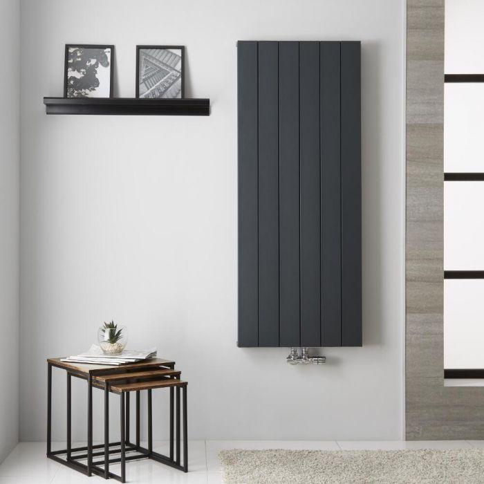 Radiateur Aluminium Anthracite Kett – 140cm x 56,5cm