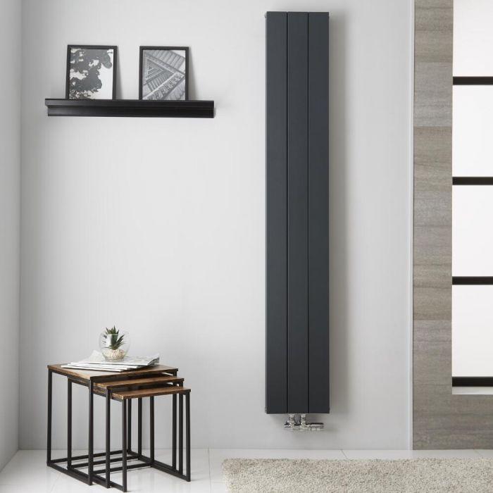 Radiateur Aluminium Anthracite Kett – 180cm x 28cm