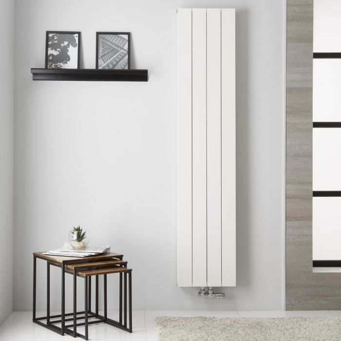 Radiateur Aluminium Blanc Kett – 180cm x 37,5cm