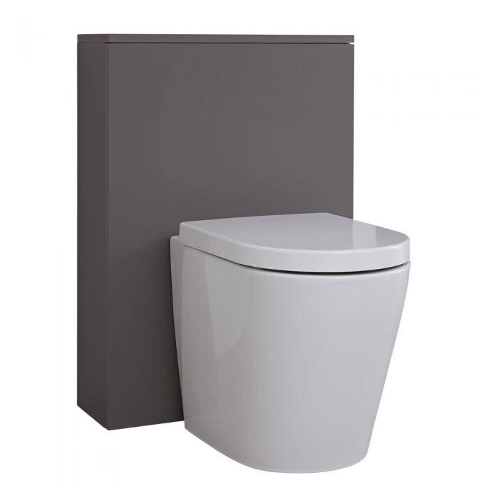 Meuble WC Newington - 60cm - Gris Mat