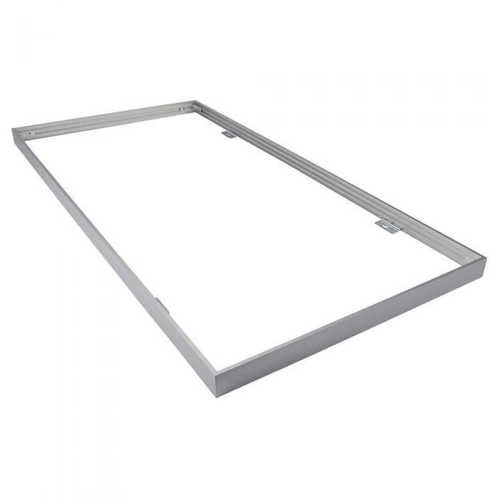 Biard Fixation pour Plafonnier LED 120x60cm Argenté