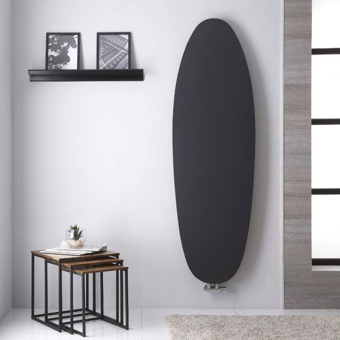 Tavolara - Anthracite Vertical Radiateur design - 172.8cm x 53.5cm