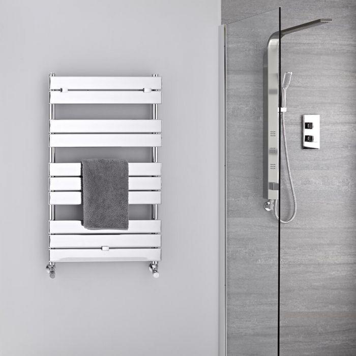 Sèche-serviettes eau chaude Chromé 100 x 60cm 385 watts Lustro