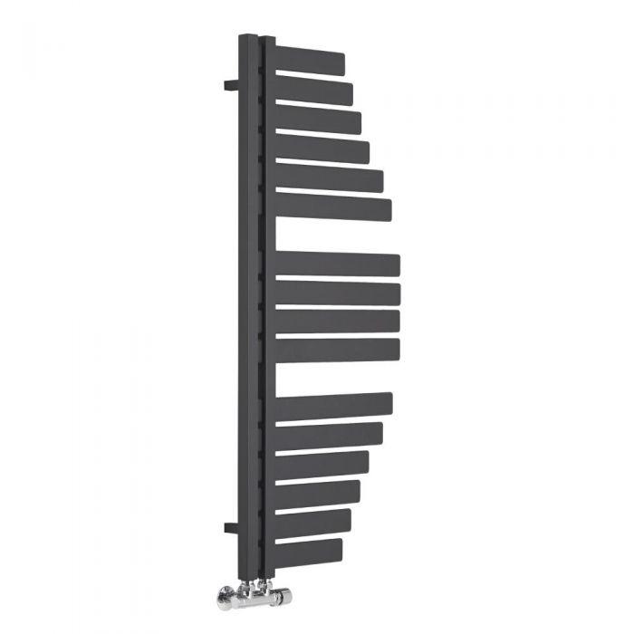Lazio - Sèche-serviettes Design Anthracite - 110cm x 48.3cm