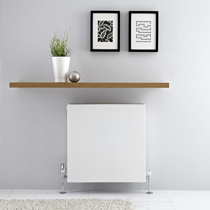Radiateur horizontal Blanc Type 22 Merus 60 x 60cm 1299 watts