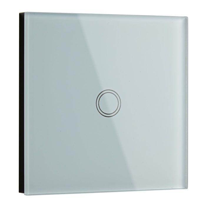 Biard Interrupteur Design Tactile Verre Blanc