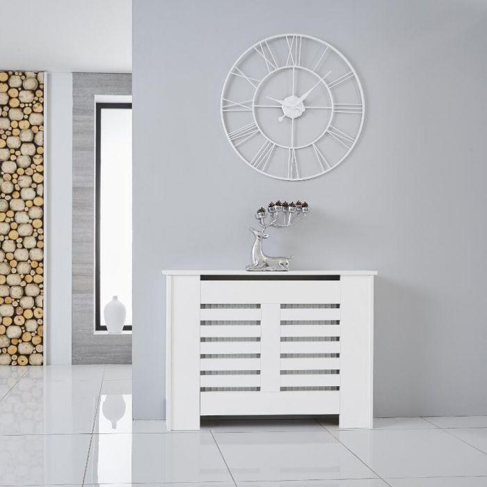 Cache Radiateur Blanc 82cm x 111cm Newham