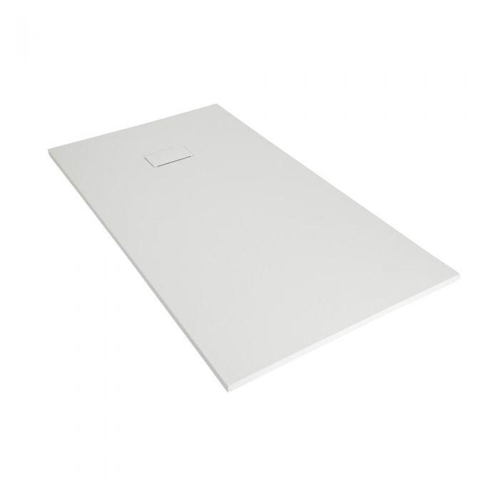 Receveur de douche blanc rectangulaire 110x70cm