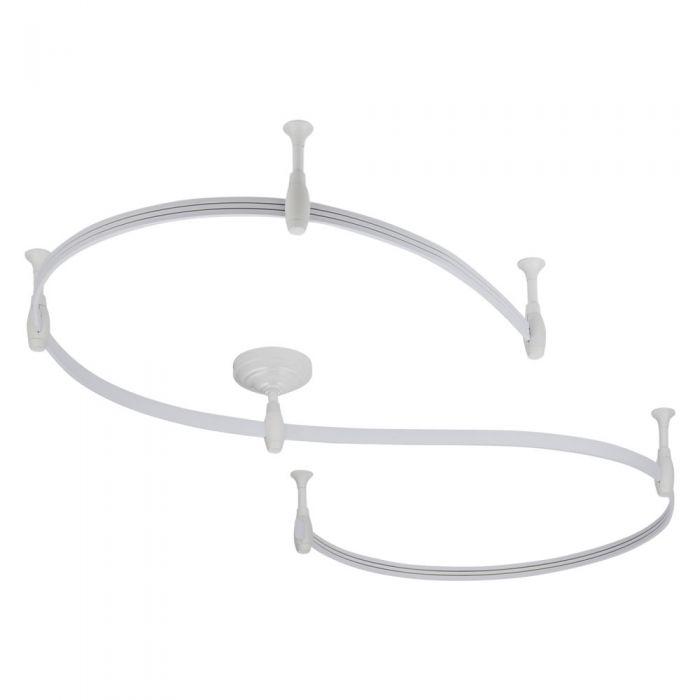 Biard Rail Flexible pour Spot LED 3m Blanc