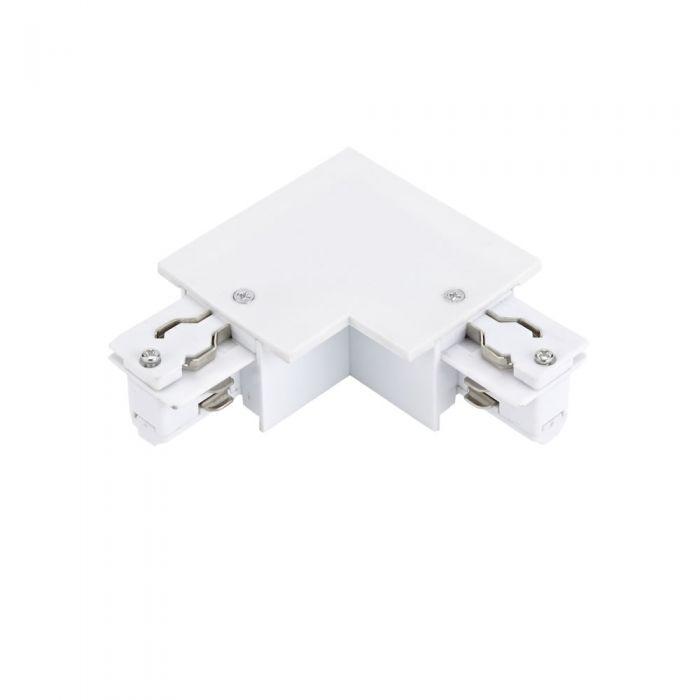 Biard Connecteur triphasé encastrable 2 pôles en L Blanc