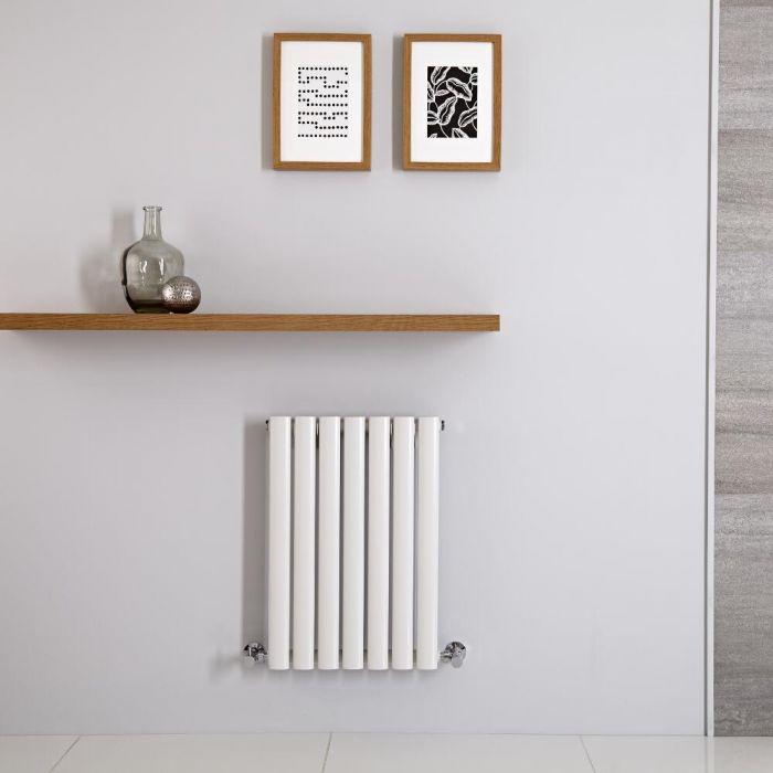 Radiateur Horizontal Vitality Blanc 60cm x 41.5cm x 5.6cm 390 watts