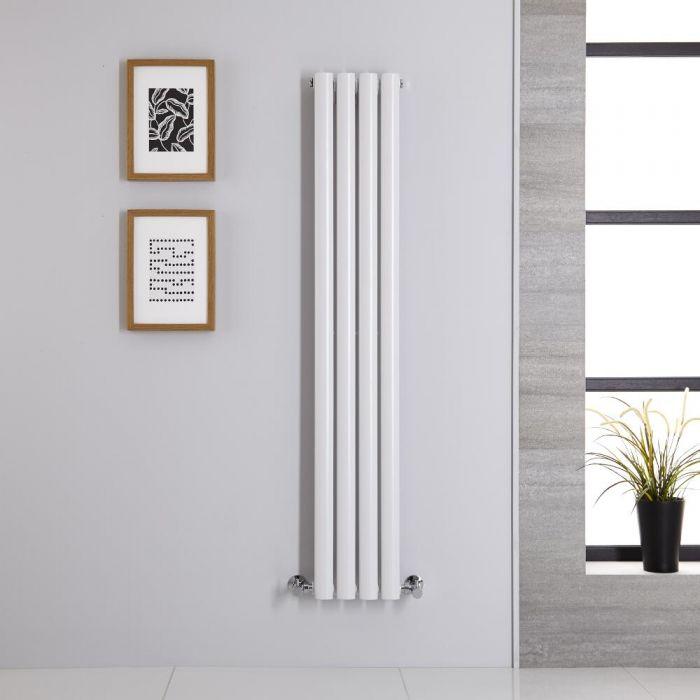 Radiateur Vertical Vitality Blanc 140cm x 23.6cm x 5.6cm 457 watts