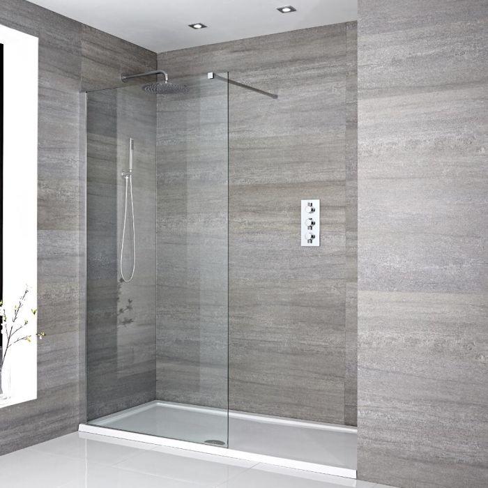paroi de douche 100x195cm receveur 170x80cm. Black Bedroom Furniture Sets. Home Design Ideas