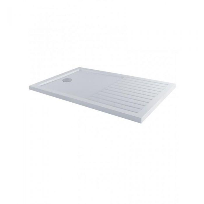 Receveur de douche rectangulaire 160x80cm - Zone de séchage