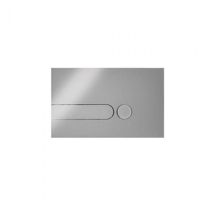 Plaque de Déclenchement WC Chromé 15x24cm Cluo