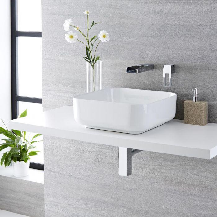 Vasque salle de bains à poser 40 x 40cm Milton