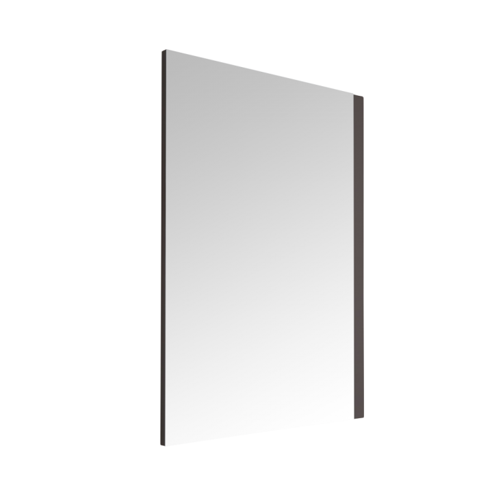 Miroir Newington - 75x100cm - Cadre Gris Mat