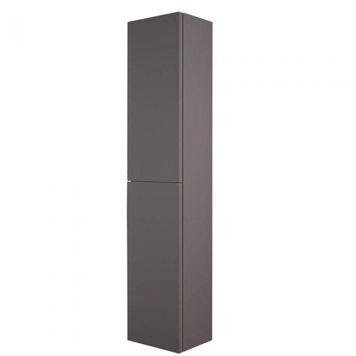 Colonne de Rangement Newington - 35x150cm - Gris Mat