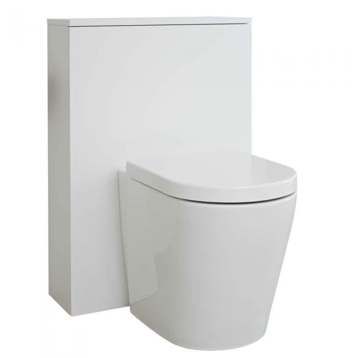 Meuble WC Newington - 60cm - Blanc Mat