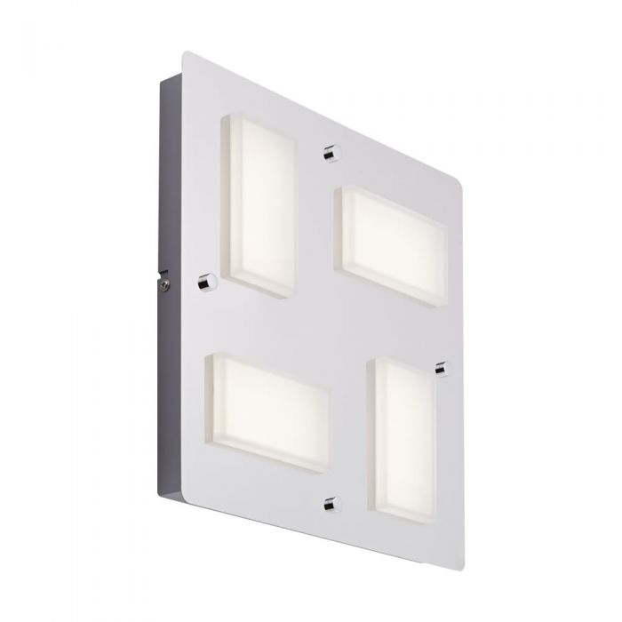 Biard Applique Murale Led 18W IP44 Glacier