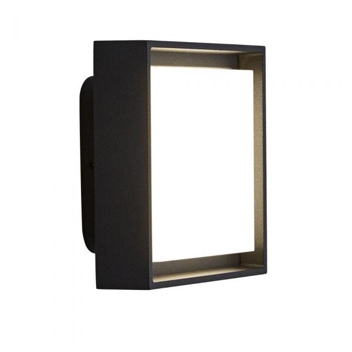 Biard Turin - Applique Murale extérieure IP65 - LED 9W - Anthracite et/ou Noir