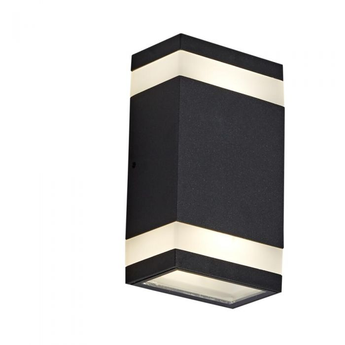 Biard 9w Bidirectionnelle Etou Noir Anthracite Jimara Murale Applique Led On0wk8PX