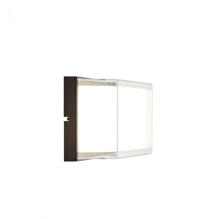 Sinoe - Applique murale IP65 LED 9W Anthracite ou Noire