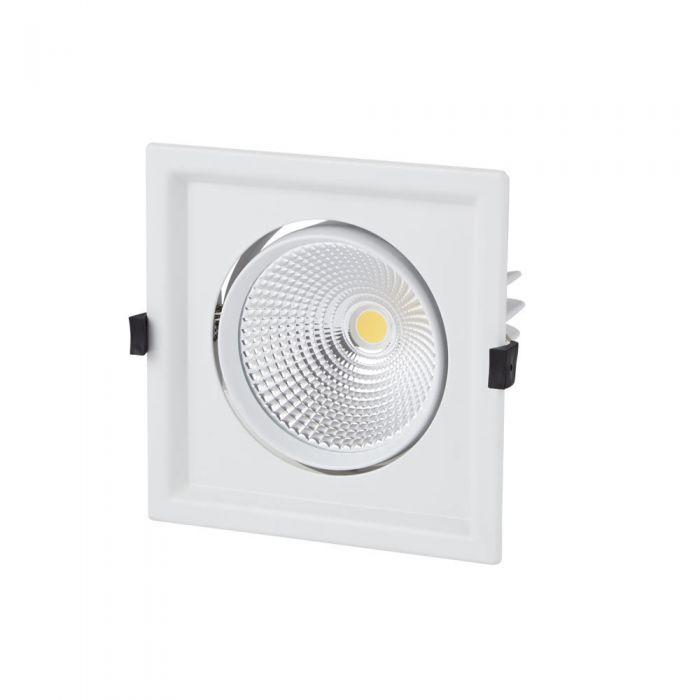 Biard Spot LED Encastrable 30 Watts 17.5x17.5cm Blanc