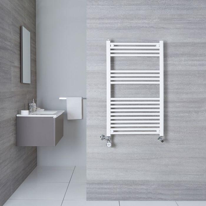 Sèche-Serviettes Mixte Blanc Etna 100cm x 60cm x 3cm 614 Watts
