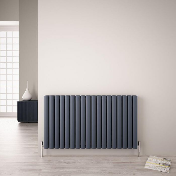 Radiateur Aluminium Design Anthracite Vitality Air 60 x 107cm 2067 watts