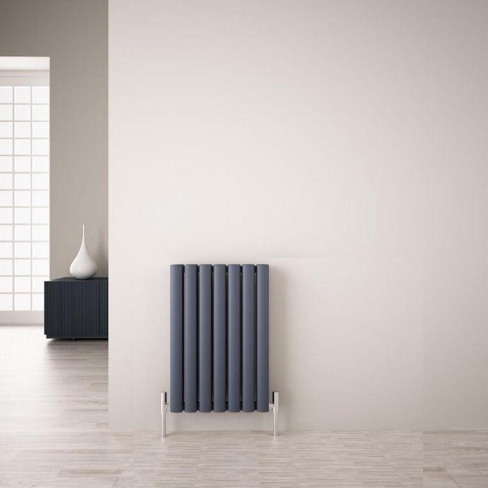 Radiateur Aluminium Design Anthracite 60 x 41cm 804 watts Vitality Air