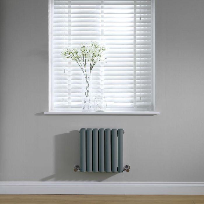Radiateur horizontal anthracite Vitality 40 x 41.5cm 433 watts